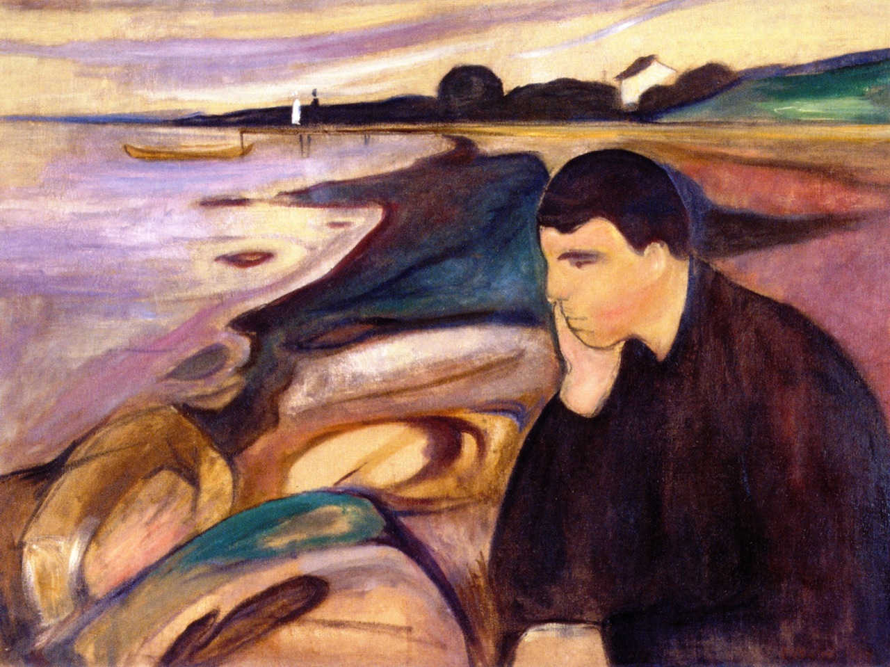 https://commons.wikimedia.org/wiki/File:Edvard_Munch_-_Melancholy_(1894).jpg