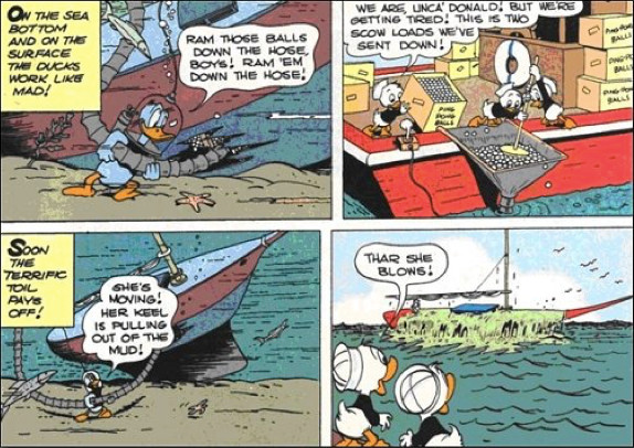carl banks donald duck comic