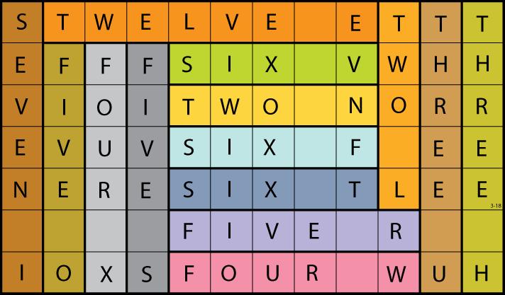 sallows self-descriptive rectangle tiling