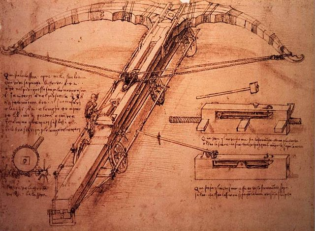 https://commons.wikimedia.org/wiki/File:Vinci,_Leonardo_da_-_Crossbow_sketch_-_1500.jpg