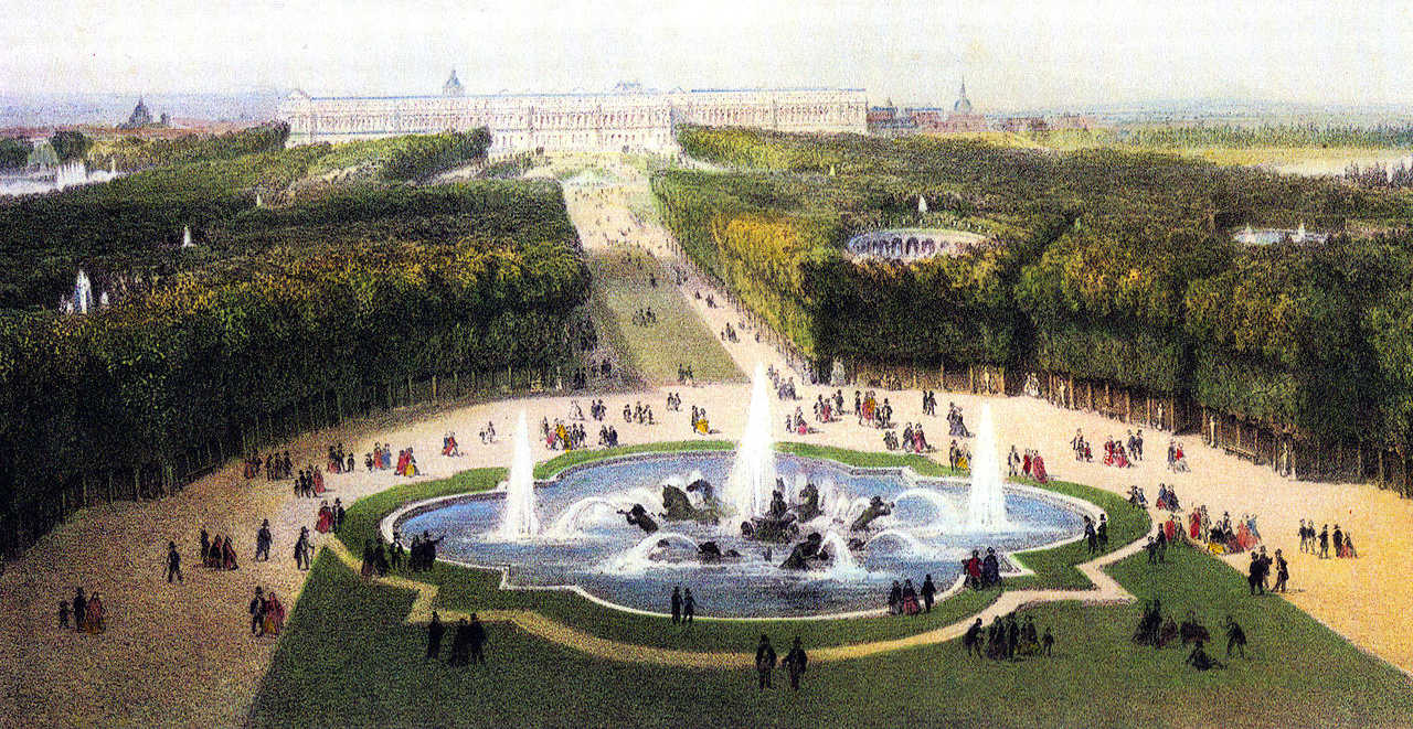 https://commons.wikimedia.org/wiki/File:Versailles_Palace_garden_c1860.jpg