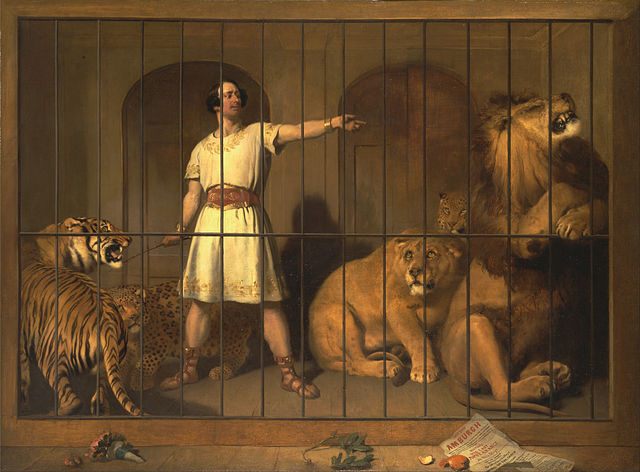 https://commons.wikimedia.org/wiki/File:Sir_Edwin_Henry_Landseer_-_Portrait_of_Mr._Van_Amburgh,_As_He_Appeared_with_His_Animals_at_the_London_Theatres_-_Google_Art_Project.jpg