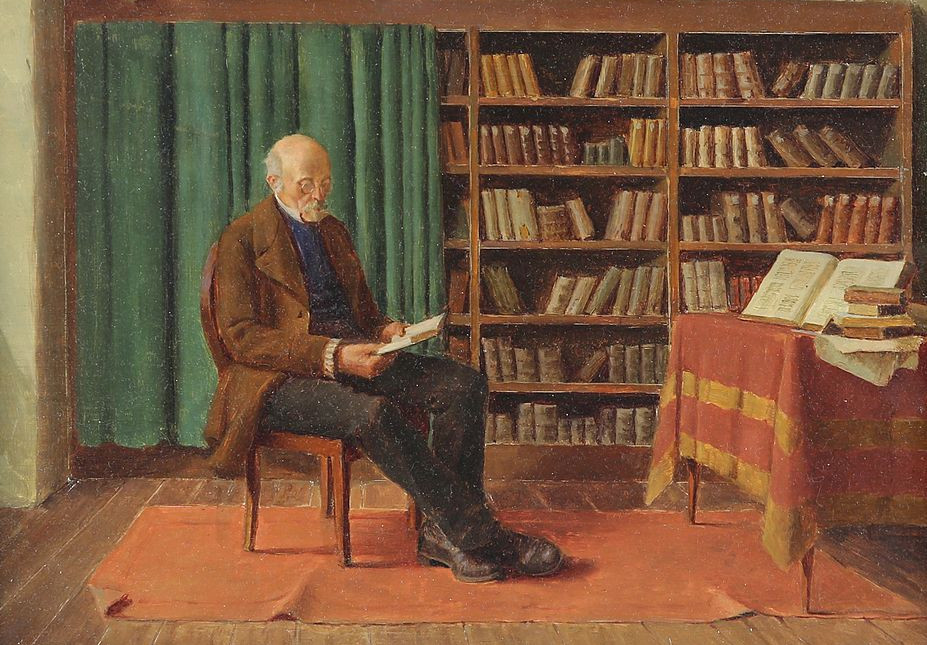 https://commons.wikimedia.org/wiki/File:Ludwig_Valenta_-_In_the_library.jpg
