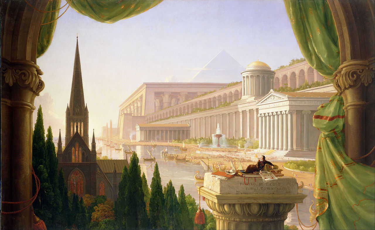 https://commons.wikimedia.org/wiki/File:Thomas_Cole_-_Architect%E2%80%99s_Dream_-_Google_Art_Project.jpg