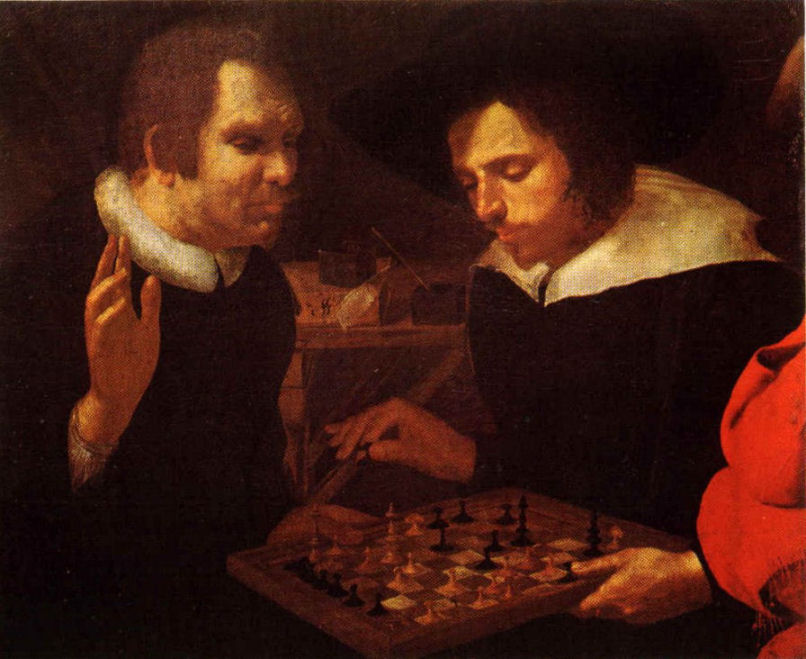 https://commons.wikimedia.org/wiki/File:Chess_players_by_Karel_van_Mander.jpg