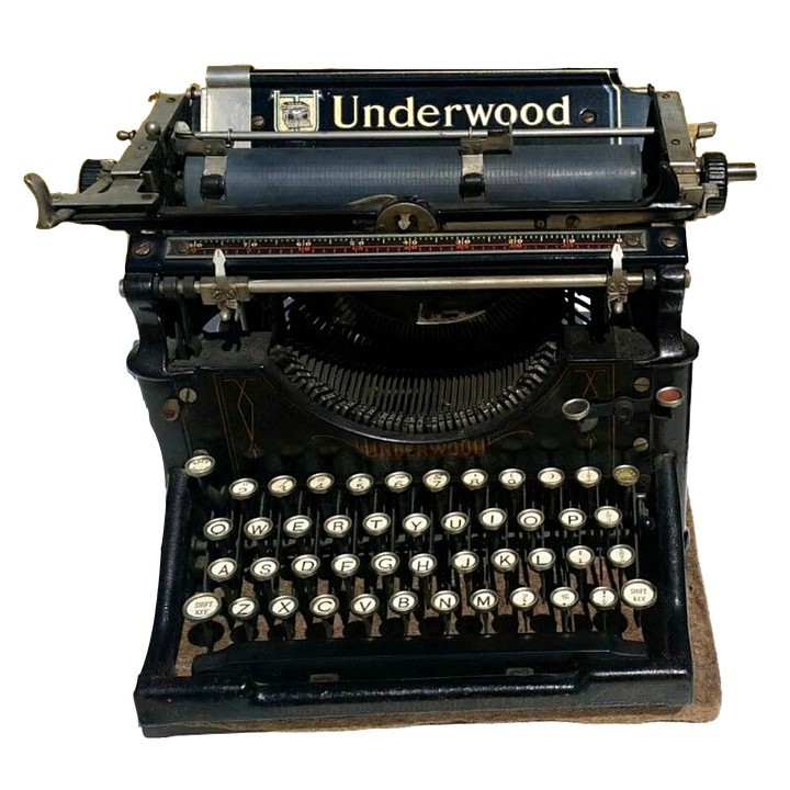 https://pixabay.com/photos/vintage-typewriter-underwood-2554338/