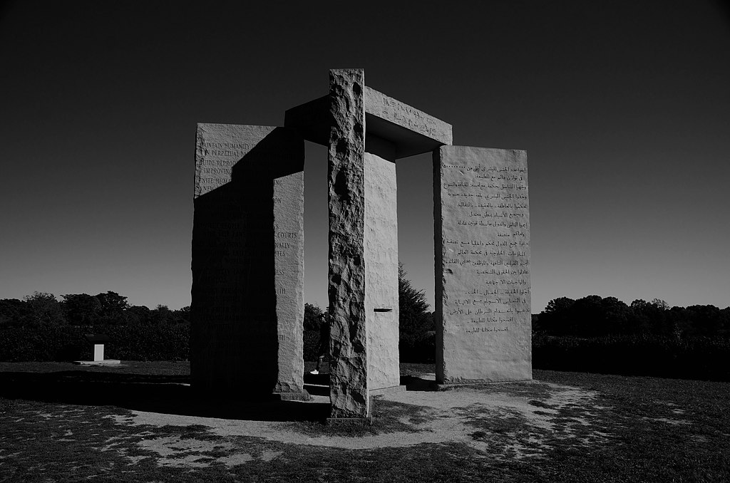 https://commons.wikimedia.org/wiki/File:The_Georgia_Guidestones-_A_mysterious_monument_meant_to_be_a_guide_into_%22an_Age_of_Reason.%22.jpg