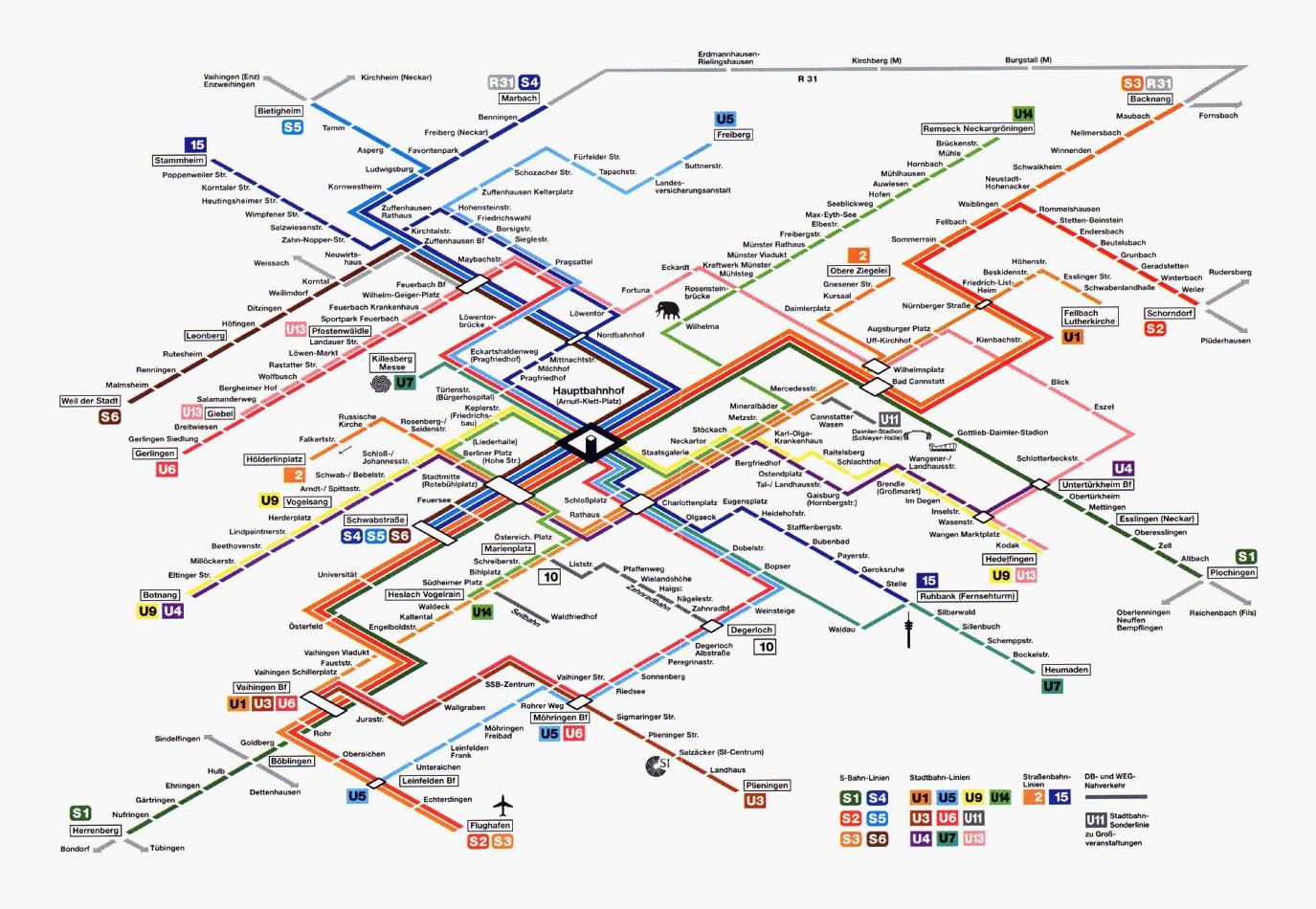 stuttgart rail network