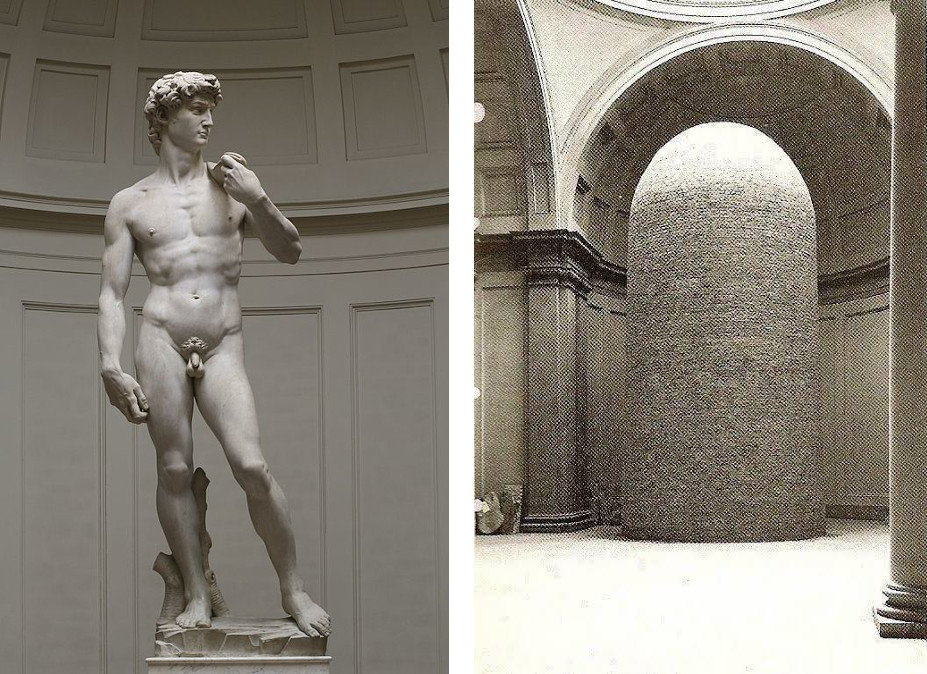 https://www.reddit.com/r/HistoryPorn/comments/ewxk44/statue_of_david_by_michelangelo_encased_in_bricks/