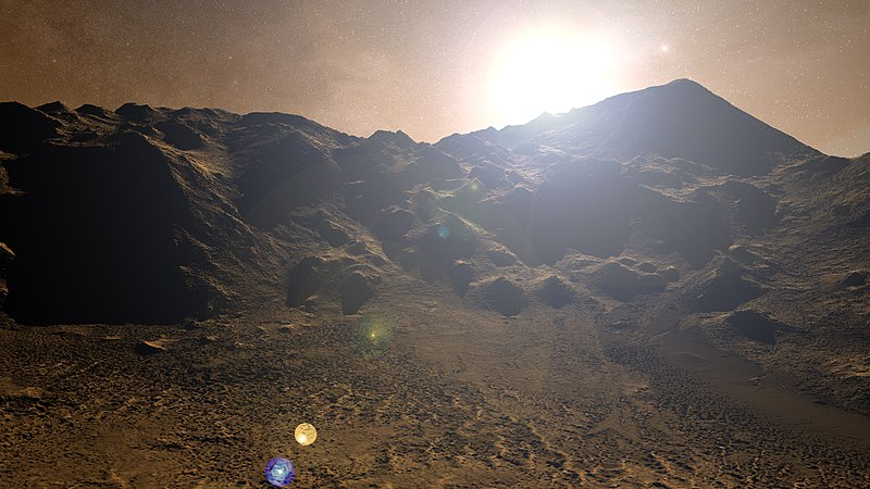 https://commons.wikimedia.org/wiki/File:Martian_Sunrise_-_Flickr_-_Kevin_M._Gill.jpg
