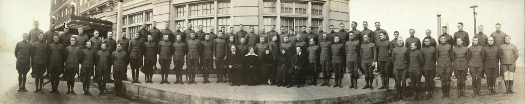 friedmans' 1918 class photo