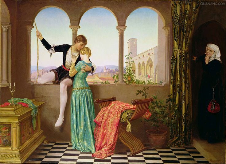 https://commons.wikimedia.org/wiki/File:E._Fortescue-Brickdale_--_Romeo_and_Juliet_Farewell.jpg