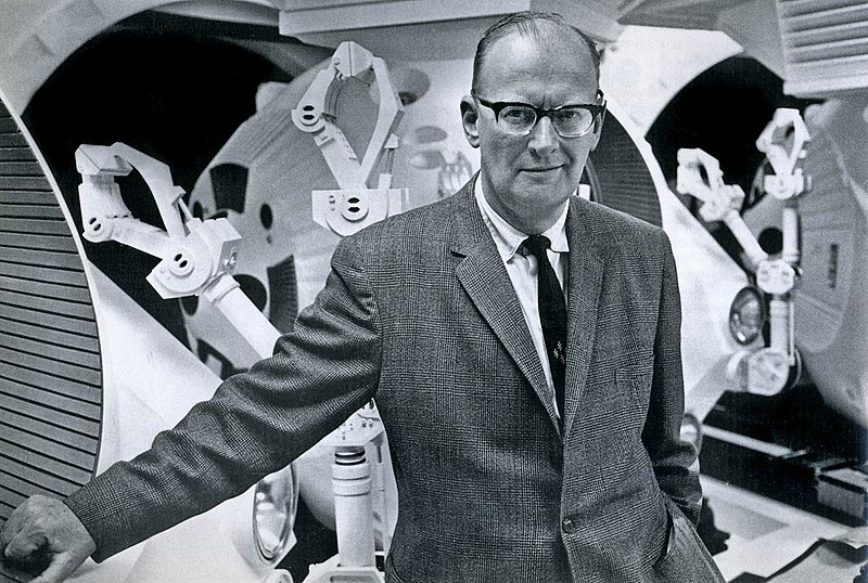 https://commons.wikimedia.org/wiki/File:Arthur_C._Clarke_1965.jpg