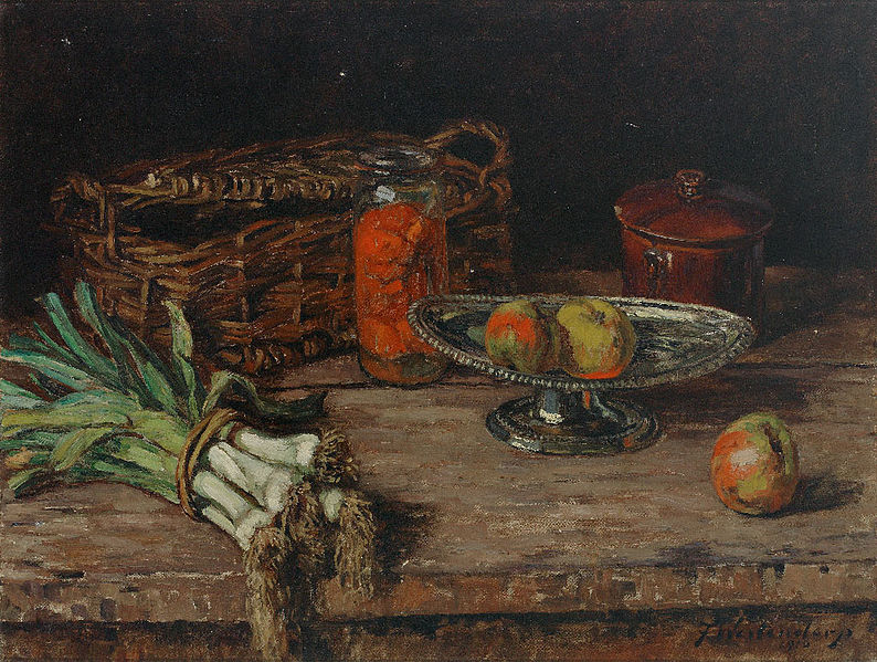 https://commons.wikimedia.org/wiki/File:Fritz_Westendorp_Stilleben_mit_Lauch_1916.jpg