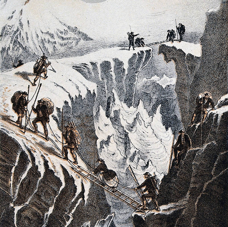 https://commons.wikimedia.org/wiki/File:Henriette_d%27Angeville_and_her_party_ascending_Mont_Blanc,_18_Wellcome_V0025176EL.jpg