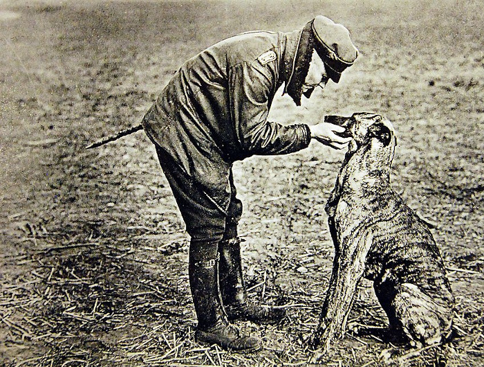 https://commons.wikimedia.org/wiki/File:Captain_Manfred_Baron_von_Richthofen_with_dog,_Germany,_WWI_(29345003121).jpg