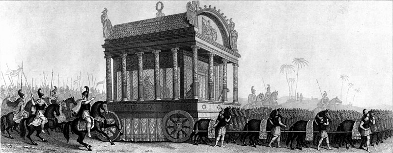 https://commons.wikimedia.org/wiki/File:Mid-nineteenth_century_reconstruction_of_Alexander%27s_catafalque_based_on_the_description_by_Diodorus.jpg