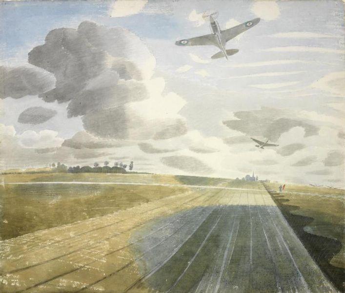 https://commons.wikimedia.org/wiki/File:Runway_Perspective_(Art_IWM_Art_LD_2123).jpg